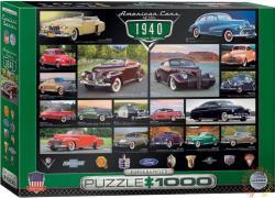 EUROGRAPHICS A 40-es évek amerikai autói 1000 db-os (6000-0675)