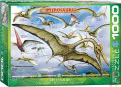 EUROGRAPHICS Pterosaurus - Flying Reptiles 1000 db-os (6000-0680)