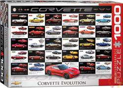 EUROGRAPHICS Corvette evolúció 1000 db-os (6000-0683)