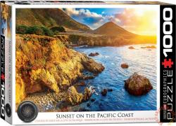 EUROGRAPHICS Sunset on the Pacific Coast 1000 db-os (6000-0691)