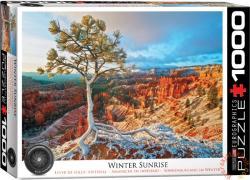 EUROGRAPHICS Winter Sunrise 1000 db-os (6000-0692)