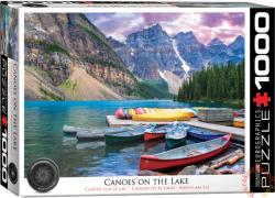 EUROGRAPHICS Canoes on the Lake 1000 db-os (6000-0693)