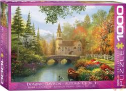 EUROGRAPHICS Autumn Church 1000 db-os (6000-0695)