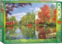 EUROGRAPHICS Lakeside Reflections 1000 db-os (6000-0696)