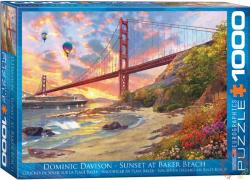 EUROGRAPHICS Sunset at Baker Beach 1000 db-os (6000-0697)