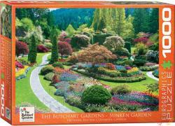 EUROGRAPHICS Sunken Garden 1000 db-os (6000-0700)