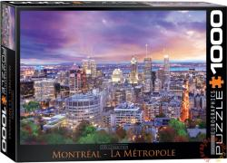 EUROGRAPHICS Montreal, Cityscape 1000 db-os (6000-0737)