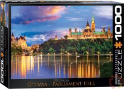 EUROGRAPHICS Ottawa, Parlament Hill 1000 db-os (6000-0739)