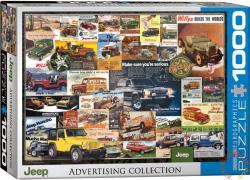 EUROGRAPHICS Jeep reklám kollázs 1000 db-os (6000-0758)