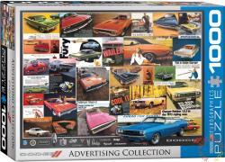 EUROGRAPHICS Dodge reklám kollázs 1000 db-os (6000-0760)
