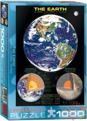 EUROGRAPHICS The Earth 1000 db-os (6000-1003)