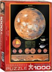 EUROGRAPHICS Mars 1000 db-os (6000-1006)