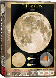 EUROGRAPHICS The Moon 1000 db-os (6000-1007)