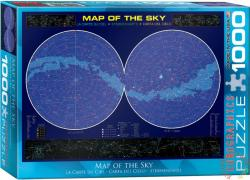 EUROGRAPHICS Map of the Sky 1000 db-os (6000-1010)