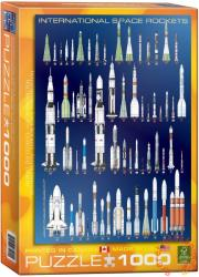 EUROGRAPHICS International Space Rockets 1000 db-os (6000-1015)