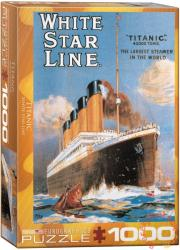 EUROGRAPHICS Titanic 1000 db-os (6000-1333)