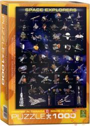 EUROGRAPHICS Space Explorers 1000 db-os (6000-2001)