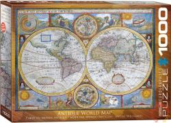 EUROGRAPHICS Antique World Map 1000 db-os (6000-2006)