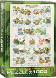 EUROGRAPHICS Frogs & Toads 1000 db-os (6000-2760)