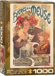 EUROGRAPHICS Biéres de la Meuse 1000 db-os (6000-3455)