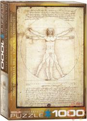 EUROGRAPHICS Leonardo Da Vinci: Vitruvius Man 1000 db-os (6000-5098)