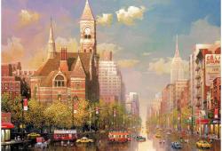 Educa Alexander Chen: New York-i délután 6000 db-os (16783)