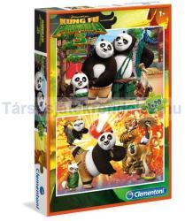 Clementoni Kung Fu Panda 3 2x20 db-os (07026)