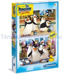 Clementoni Madagaszkár pingvinjei 2x60 db-os (07129)