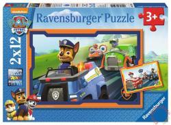 Ravensburger Mancs őrjárat 2x12 db-os (07591)