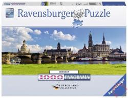 Ravensburger Panoráma Puzzle - Drezda, Canaletto városkép 1000 db-os (19619)