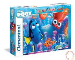 Clementoni SuperColor Maxi Puzzle - Szenilla nyomában 60 db-os (26582)