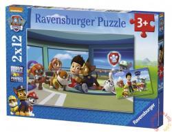 Ravensburger Mancs őrjárat 2x12 db-os (07598)