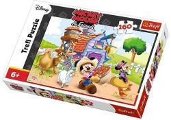 Trefl Mickey Mouse és barátai - Farmer Miki 100 db-os (15337)