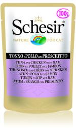 Schesir Tuna, Chicken & Ham 100g