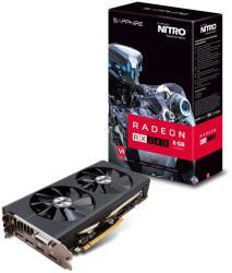 SAPPHIRE Radeon RX 480 NITRO+ OC 8GB GDDR5 256bit PCIe (11260-01-20G)