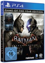 Warner Bros. Interactive Batman Arkham Knight [Game of the Year SteelBook Edition] (PS4)
