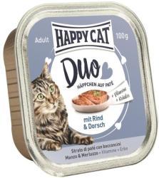 Happy Cat Duo Beef & Cod 100g