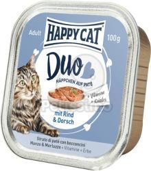 Happy Cat Duo Beef & Cod 12x100g