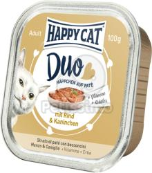 Happy Cat Duo Beef & Rabbit 6x100g