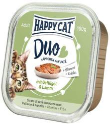 Happy Cat Duo Poultry & Lamb 12x100g