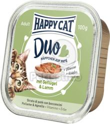 Happy Cat Duo Poultry & Lamb 6x100g