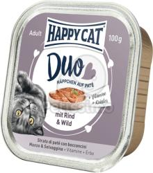 Happy Cat Duo Beef & Venison 12x100g
