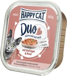 Happy Cat Duo Poultry & Beef 12x100g