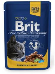 Brit Premium Cat Chicken & Turkey 24x100g