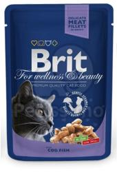 Brit Premium Cat Cod 24x100g