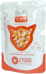 Brit Care Pouches Chicken & Cheese 24x80g