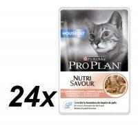 PRO PLAN House Cat Salmon 24x85g