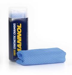 MANNOL Synthetic chamois - szintetikus szarvasbőr törlőkendő 36x33cm (9811)