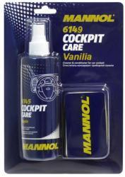 MANNOL Cockpit care Vanília - Műszerfal ápoló, vanília illatú 250ml (6149)