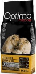 Optimanova Cat Kitten Chicken & Rice 8kg